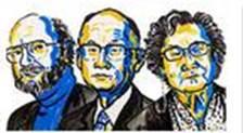 William C. Campbell,  Satoshi Omura y Youyou Tu. Premio Nobel Medicina 2015.